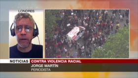 Martín: Protestas por Floyd revelan la ira contra racismo policial