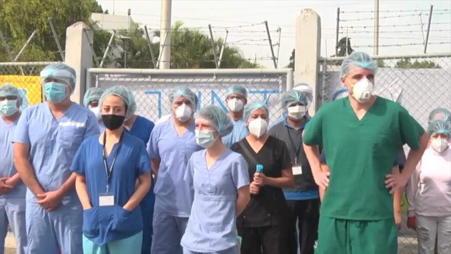 Descontrol, falta de insumos y personal en hospitales de Guatemala