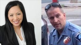 La esposa de asesino de George Floyd pide cambio de apellido