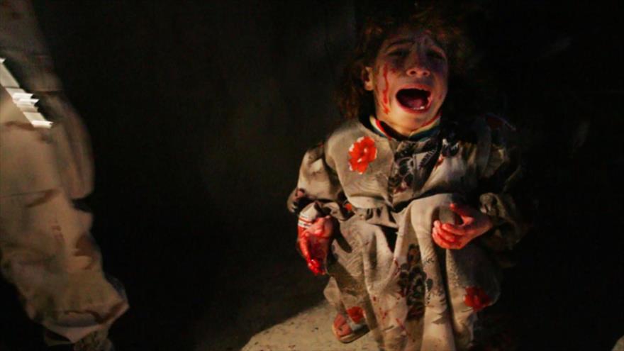 Fotos que sacuden al mundo: Niña iraquí en puesto de control