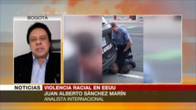 Sánchez Marín: Racismo es parte del sistema capitalista de EEUU