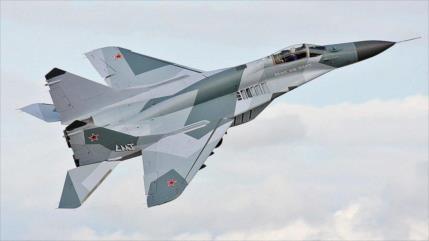 Siria empieza misiones aéreas con modernizados cazas rusos MiG-29