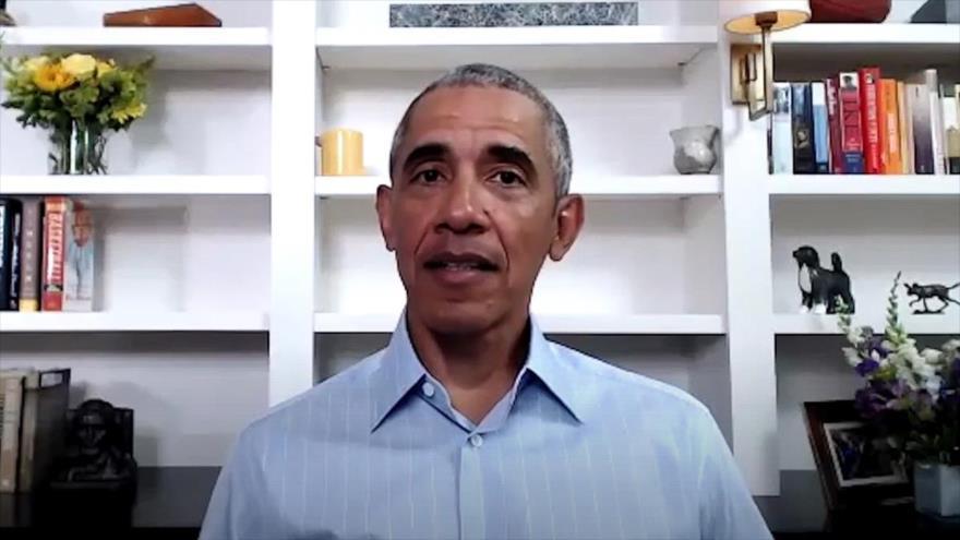 """Obama anima a protestar por """"un cambio de mentalidad"""" en EEUU"""