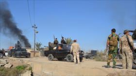 Fuerzas populares de Irak limpian de Daesh más de 50 km de Diyala