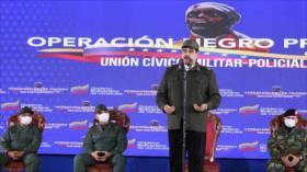 """Maduro acusa a Trump de planear """"masacre"""" de manifestantes en EEUU"""