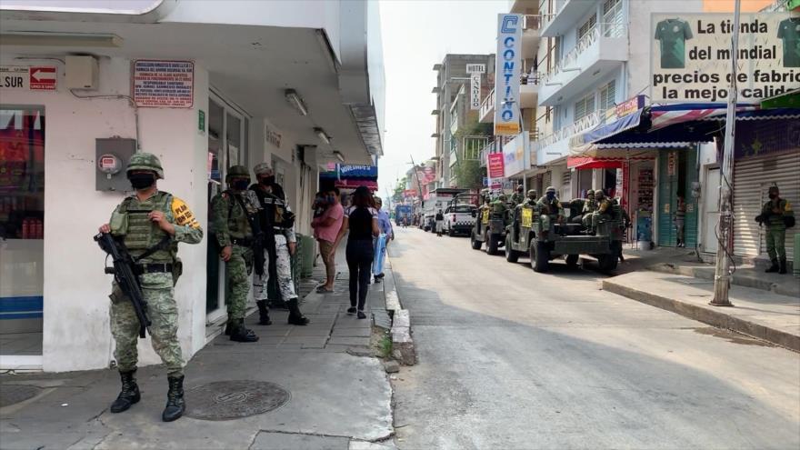 Ejército mexicano entra en el sur del país para frenar la pandemia