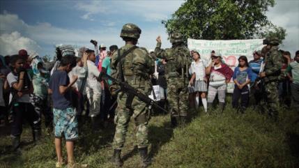 Ejército de Colombia incumple lo acordado y ataca a los campesinos