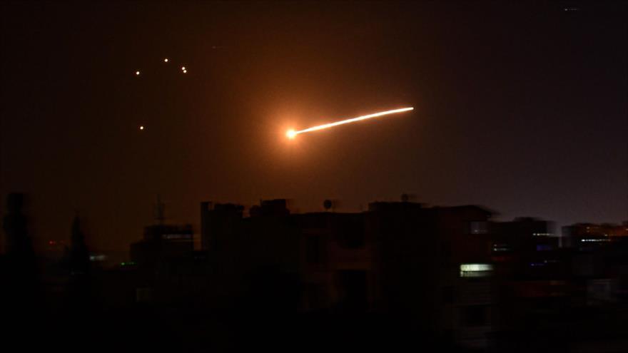 "Siria intercepta ""objetivos hostiles"" israelíes cerca de Damasco | HISPANTV"