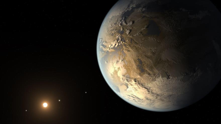Kepler-186f, un exoplaneta similar a la Tierra. (Foto: NASA)