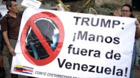 """HispanTV llama a unirse a campaña """"Trump Manos Fuera de Venezuela"""""""