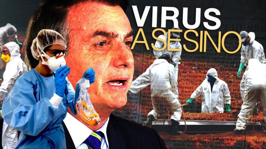Detrás de la Razón: Cifras récord por la epidemia en Brasil ante un Bolsonaro que quiere comercio