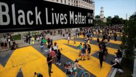 Renombran la calle que lleva a Casa Blanca: Black Lives Matter Plaza