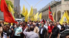 Palestinos conmemoran el aniversario del Día de la Naksa