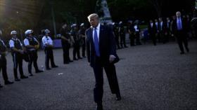 Mala perspectiva para las protestas con Trump defendiendo el racismo
