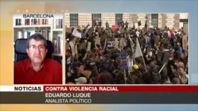 Luque: Protestas por Floyd, rechazo al racismo de la mayoría blanca