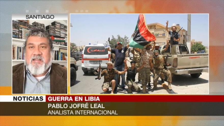 Jofré: Statu quo de Libia le interesa a quienes quieren su petróleo