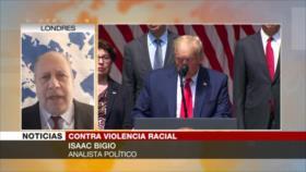 'Repudio al racismo en EEUU se suma a la indignación hacia Trump'