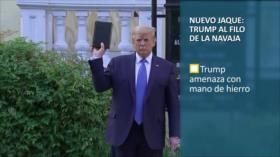 PoliMedios: Nuevo jaque: Trump al filo de la navaja