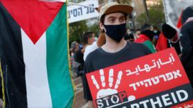 Vídeo muestra brutalidad de policía israelí contra los manifestantes