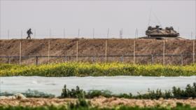 Ejército israelí vigila con robots la asediada Franja de Gaza