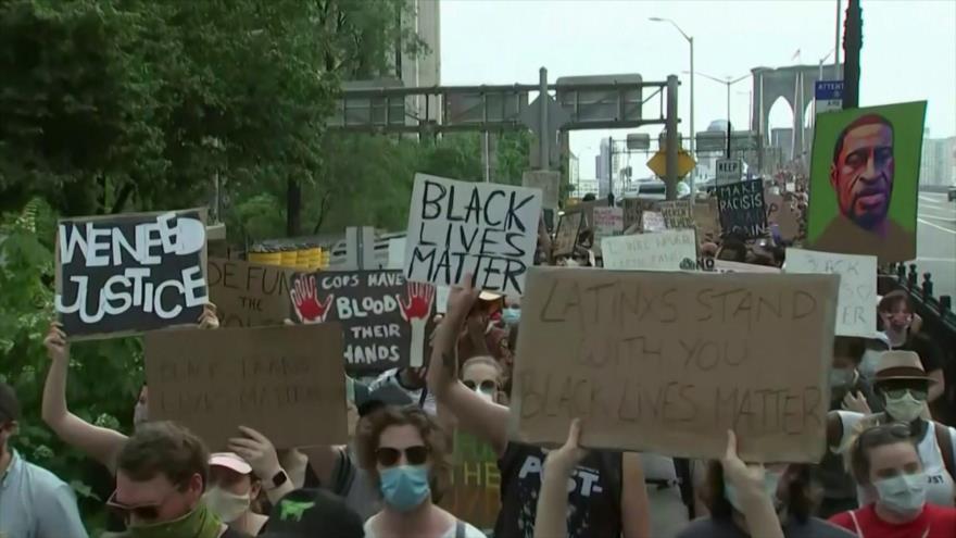 EEUU, escenario de masivas protestas contra brutalidad policial | HISPANTV