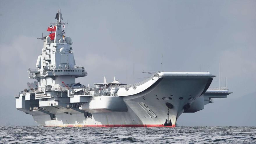 El portaviones chino Liaoning.