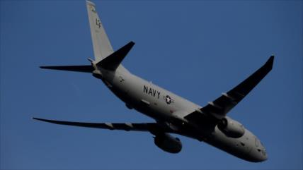 Avión espía de EEUU realiza vuelo cerca de base rusa en Siria
