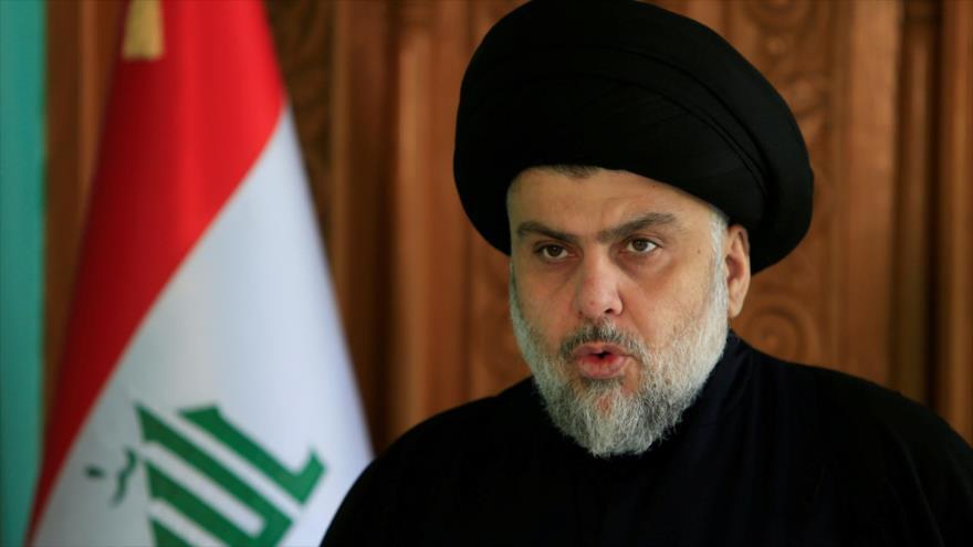 El líder del Movimiento Sadr de Irak, Muqtada al-Sadr.