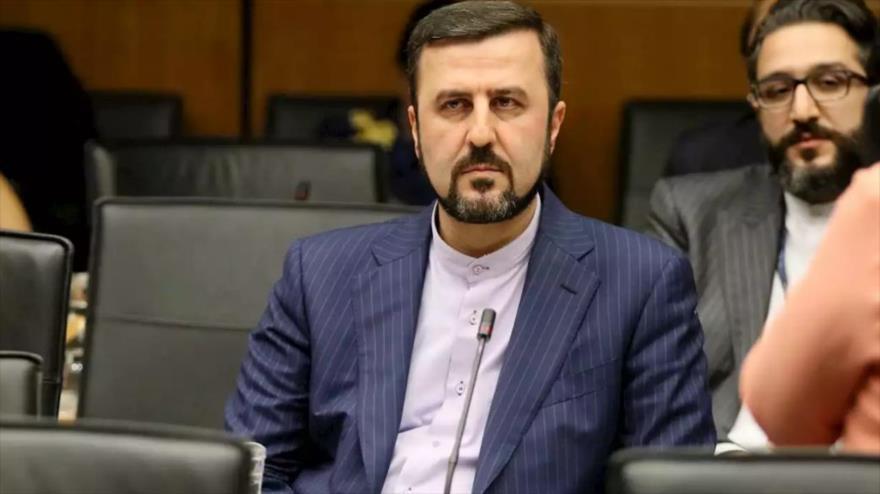 El embajador iraní ante las organizaciones internacionales radicadas en Viena, capital austriaca, Kazem Qarib Abadi.