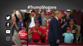Etiquetaje: Nuevo eslogan electoral de Trump genera controversia en Twitter