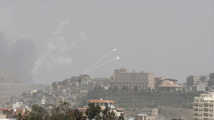 Arabia Saudí ataca con bombas de racimo la provincia yemení de Hajjah.