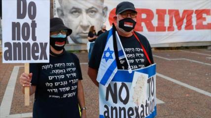 Anexión israelí, un deseo de Netanyahu pero refutado por el mundo