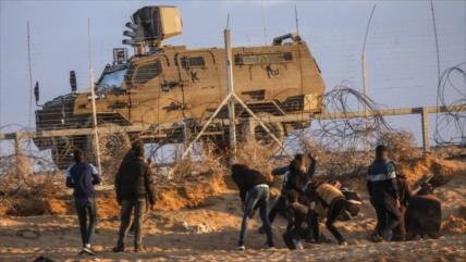Fuerzas israelíes incursionan varias partes de la Franja de Gaza