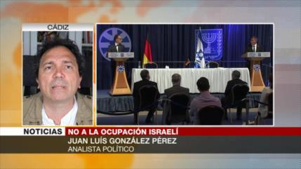 González: UE no usa de sus armas para detener anexión de Cisjordania