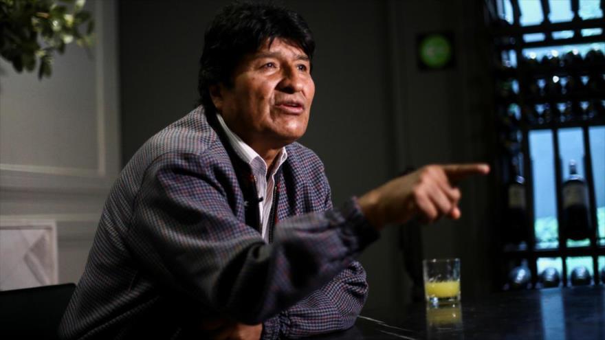 El depuesto presidente boliviano, Evo Morales.