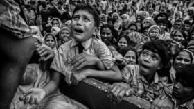 Fotos que sacuden al mundo: El implorante niño Rohingya