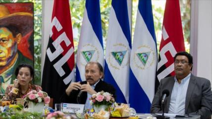 """Ortega define a EEUU como un """"experto en matar por asfixia"""""""