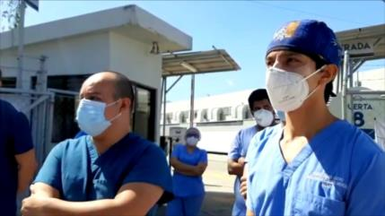 Junto al colapso de hospitales, médicos en Guatemala van a paro
