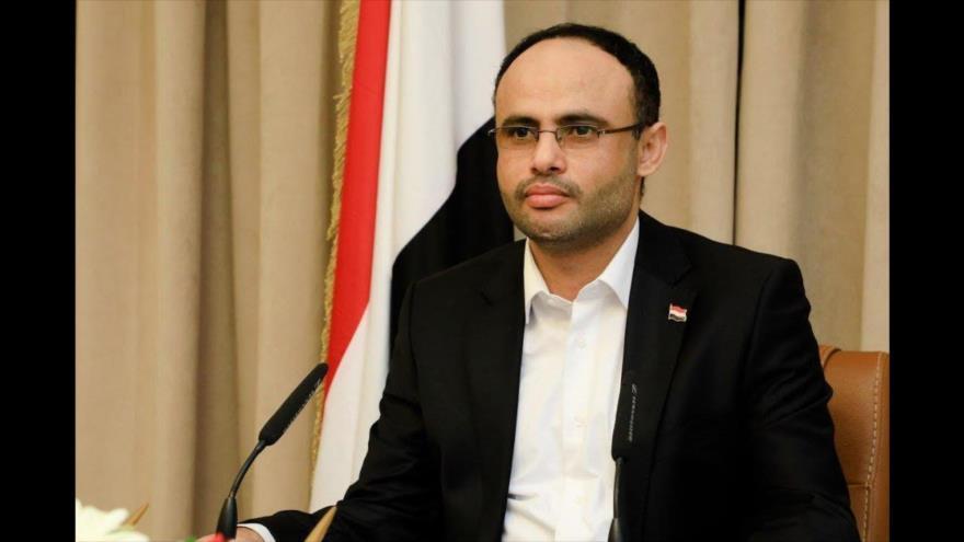 El presidente del Consejo Político Supremo de Yemen, Mahdi al-Mashat.