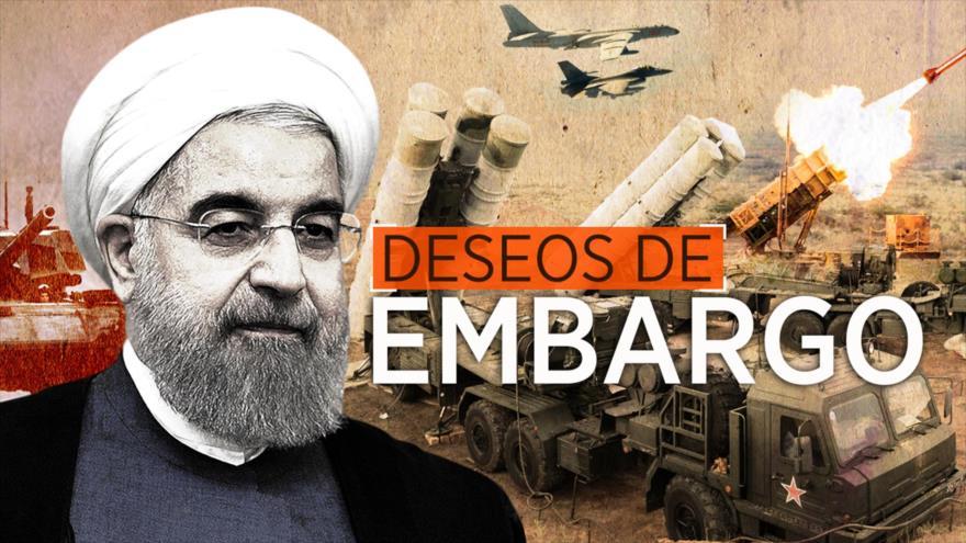 Detrás de la Razón: El embargo de armas será levantado, afirma presidente iraní