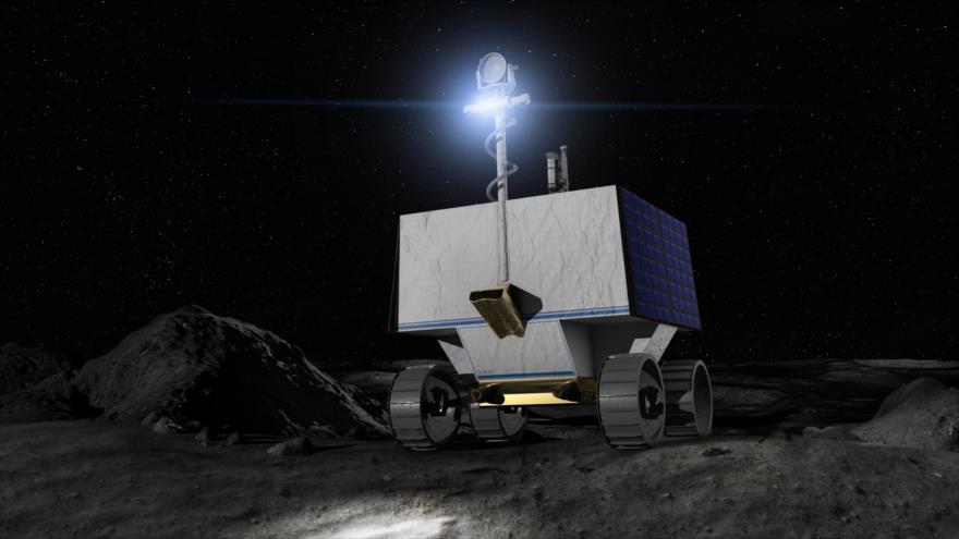 NASA construye una nave robot para buscar agua en la Luna   HISPANTV
