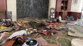 Fuerte explosión en una mezquita en Kabul deja cuatro muertos