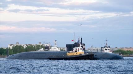 Armada de Rusia incorpora un nuevo submarino nuclear estratégico