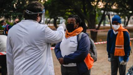 OMS advierte que la pandemia del coronavirus se acelera en África