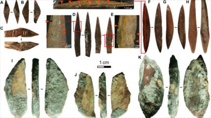 Hallan tecnología más antigua de arco y flecha: hace 48 000 años