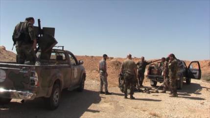 Ejército sirio limpia el desierto de explosivos dejados por Daesh