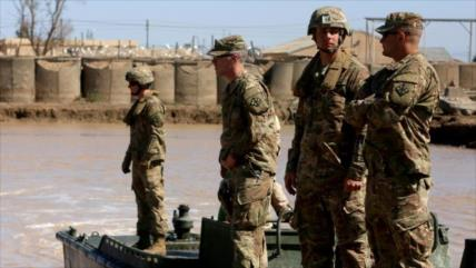 Dos cohetes impactan en una base con tropas de EEUU en Bagdad