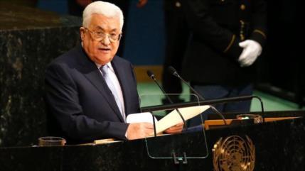 """Palestina pide """"coalición global"""" ante anexión de Cisjordania"""