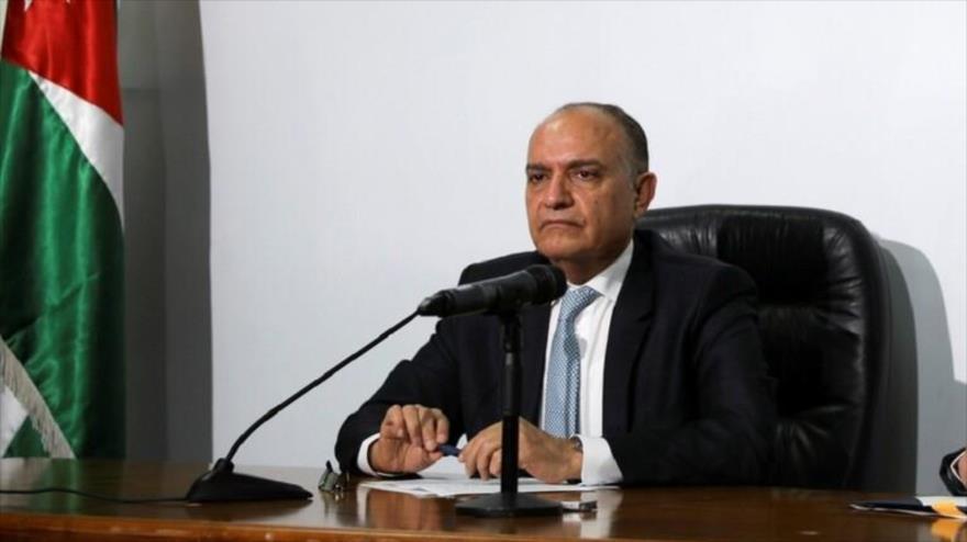 El portavoz del Gobierno jordano, Amyad Al-Adaile.