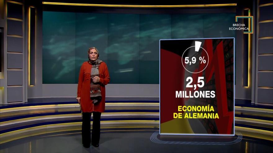 Brecha Económica: La recesión golpea las economías europeas